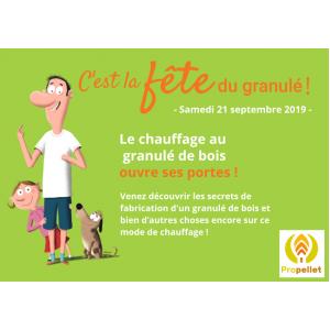 Participez à la Fête du Granulé le 21 septembre !