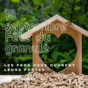 Fête du Granulé le 18 septembre 2021 !