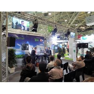 2 plateaux TV sur Flam'Expo