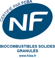 Logo NF biocombustibles solides granulés
