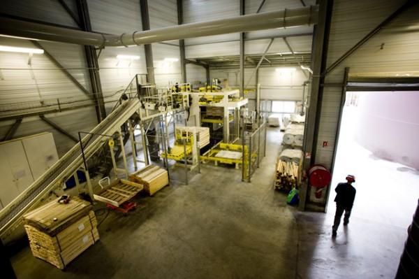 usine de granulés