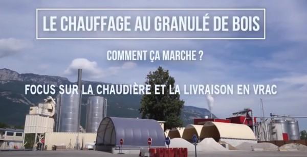 Vidéo sur le chauffage au granulé : Chaudière & Livraison en vrac